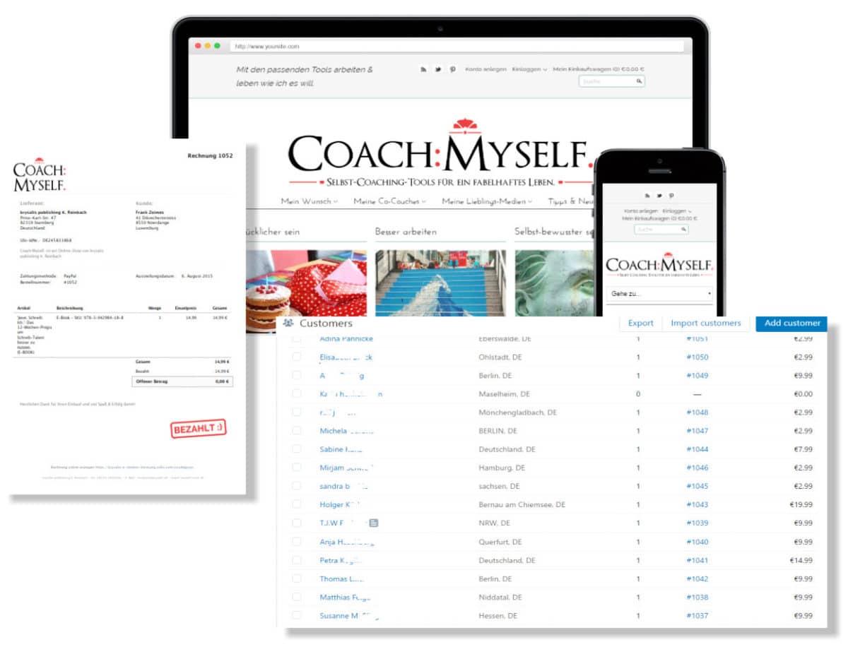 Web-Design: Überblick typische Module