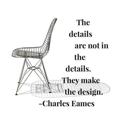 Eames Zitat Design Produkt Qualität