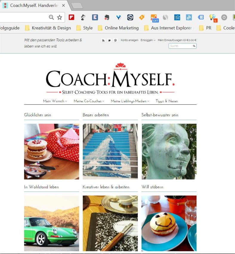 Coach Myself Shop für Slider 2